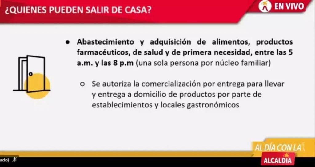 restricciones cuarentena capital