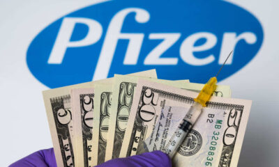 $15.000 millones de dólares obtendría Pfizer en 2021 por la venta de su vacuna