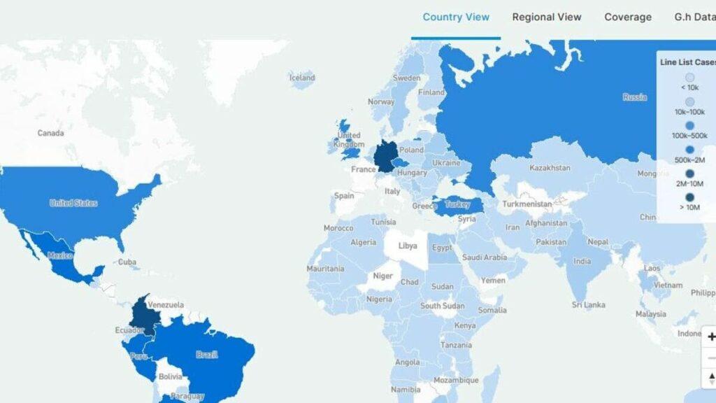 global.health google investigacion covid-19