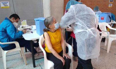 Conozca agendamiento vacunacion adulto mayor Bogota. Fuente: Twitter - Alcaldía de Tunjuelito