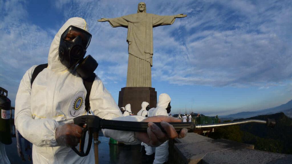 Se agrava nuevamente la situación en Brasil por el Covid-19