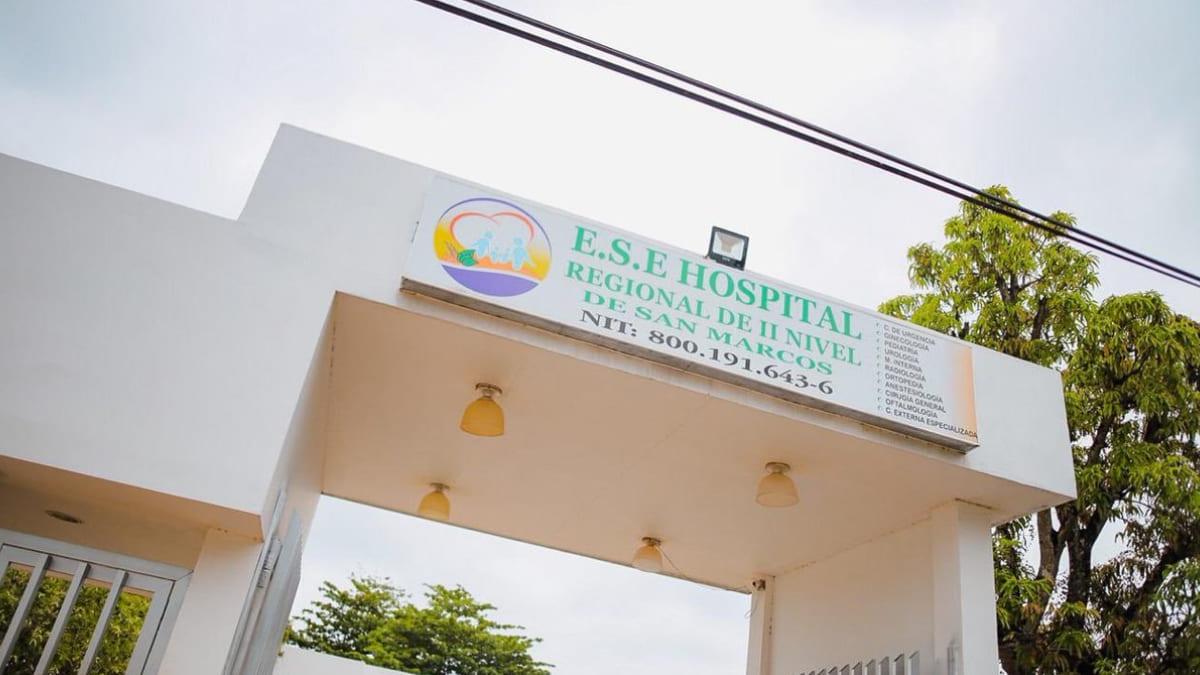 Se mantiene por un año más la intervención al Hospital San Marcos de Sucre