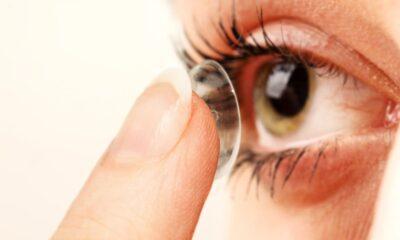 diseñan lentes de contacto enfermedades oculares