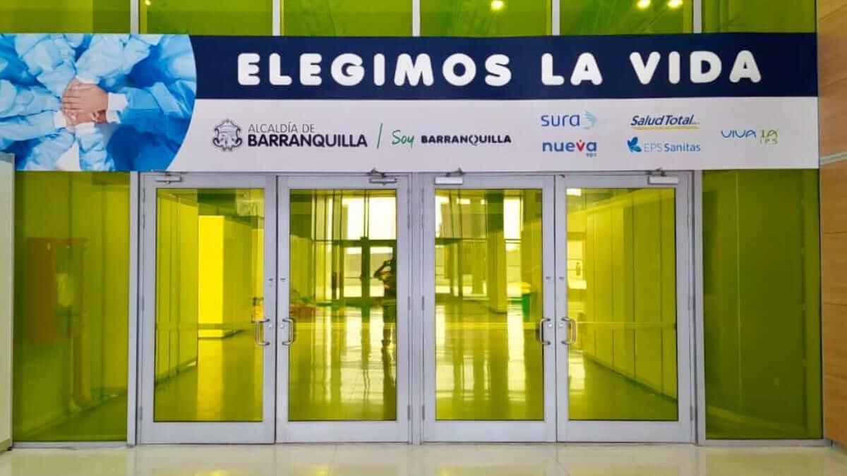 Barranquilla adecua nuevamente el Centro de Convenciones Puerta de Oro como hospital