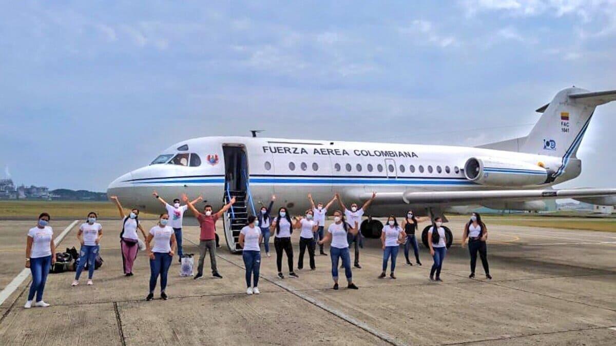 Mision Colombia etapa Antioquia