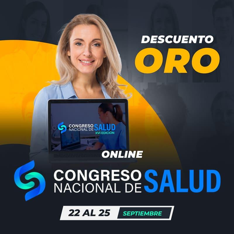 XVI Congreso Nacional de Salud: Descuento ORO