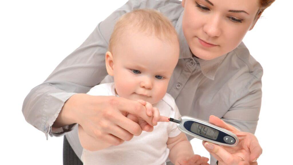 diabetes tipo 1 asociada expresion genica