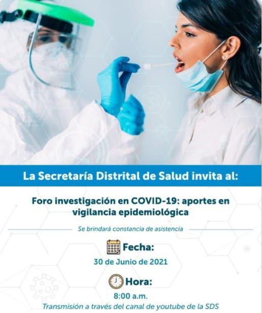 Conéctate al foro virtual de investigación en COVID-19 de la Secretaría de Salud.