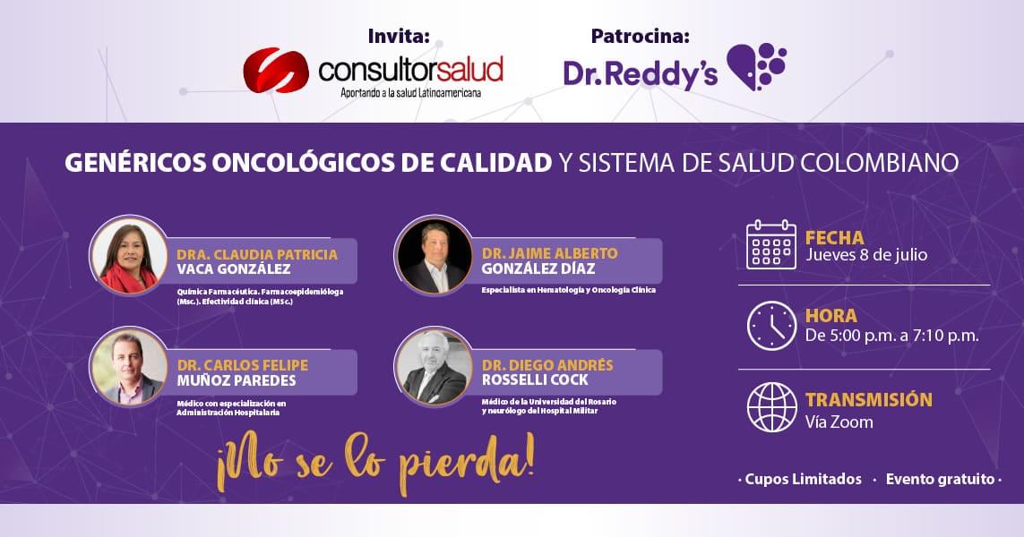 Genéricos oncológicos de calidad y sistema de salud colombiano.