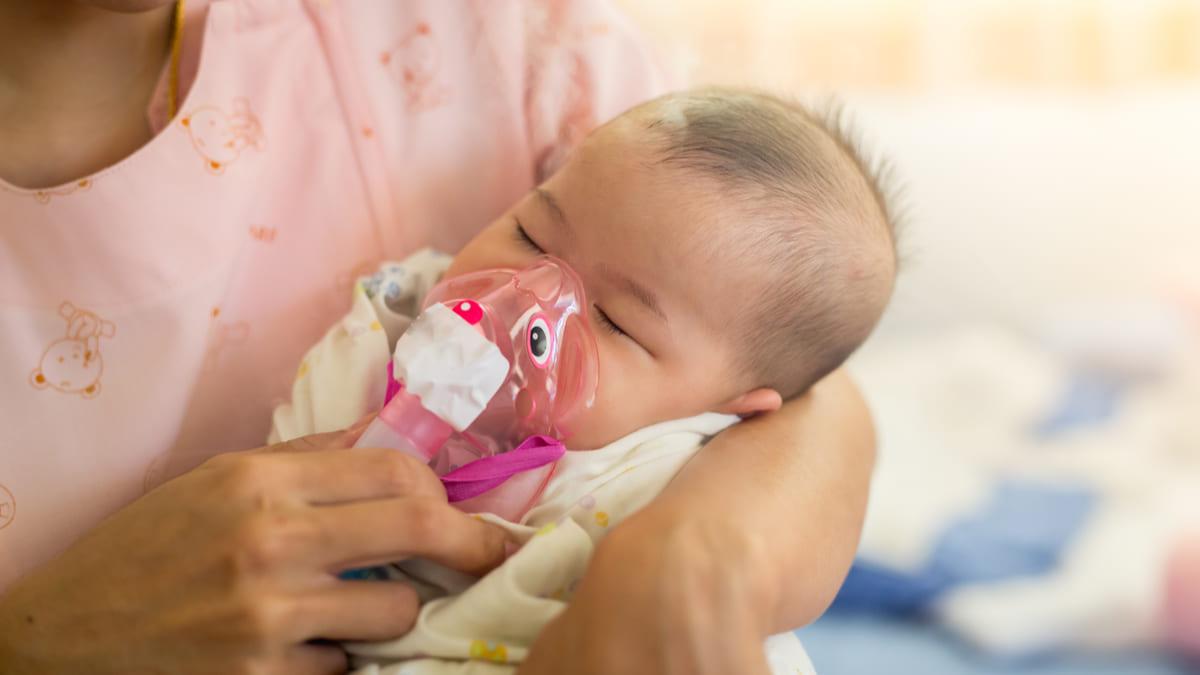 Tener bronquitis en la niñez predice una salud pulmonar regular en la adultez