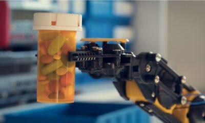 uso robots industria farmaceutica