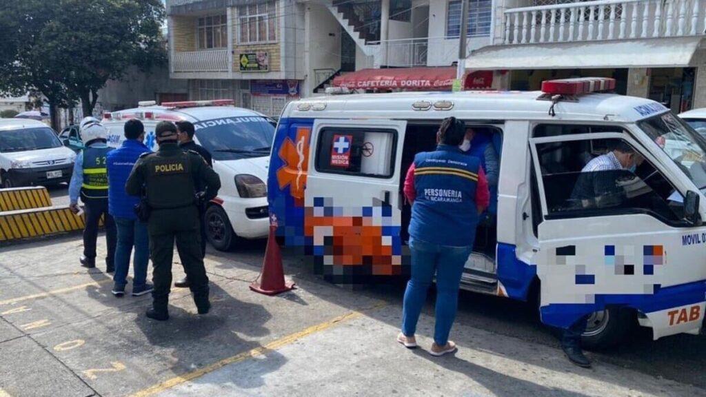 medidas para circulacion ambulancias irregulares Bucaramanga