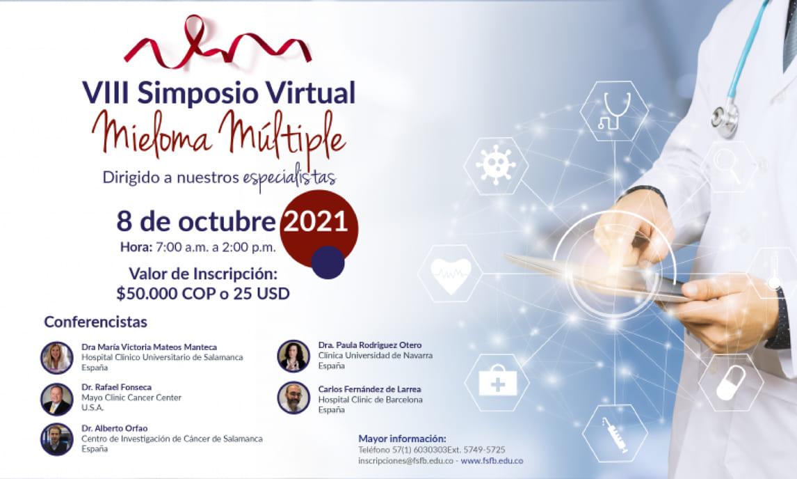 VIII Simposio virtual mieloma múltiple