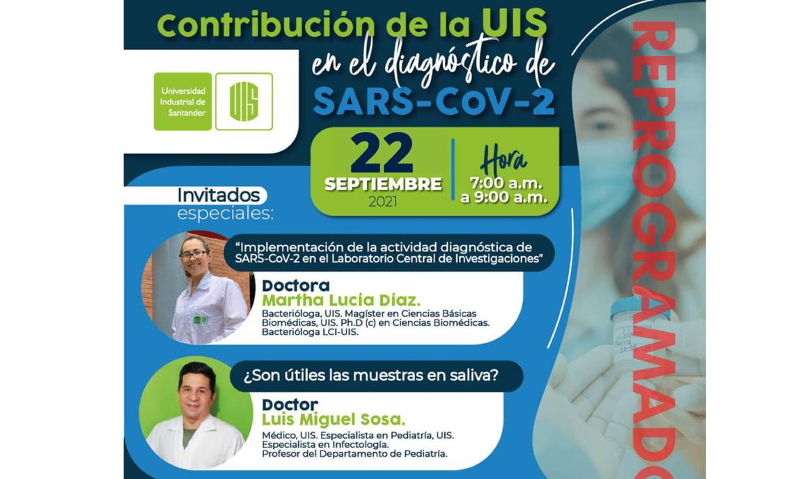 Contribución de la UIS en el diagnóstico de SARS-CoV-2